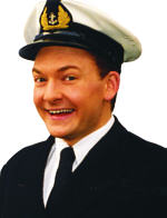 Andy Eastwood in the Navy