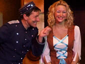 Stu Francis as Buttons with Leah-Kate as Cinderella