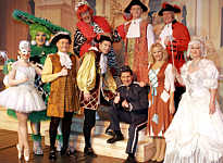 The Cinderella cast