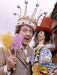 Ken Dodd with co-star Dickie Mint