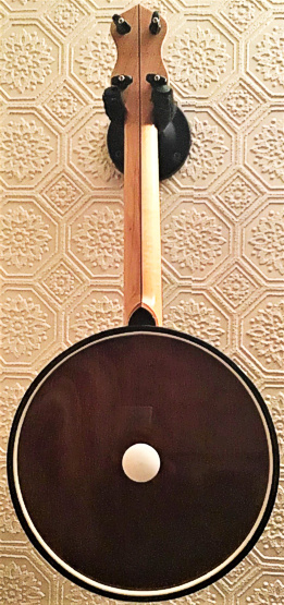 Barnes Abbott Monarch copy ukulele banjo - back