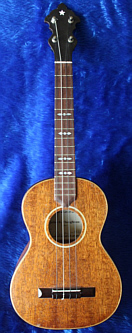 John Claughton ukulele -  front view