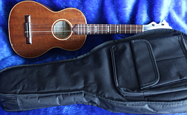 John Claughton ukulele - with case