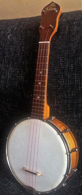 Andy Eastwood Ukulele Market Maple Finish Gibson Ub2