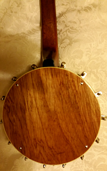 Gibson copy ukulele-banjo - back