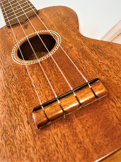 Gibson ukuele - bridge