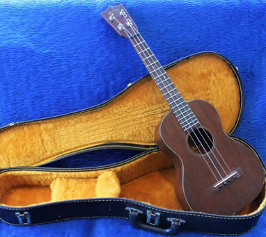 Martin tenor ukulele - in case