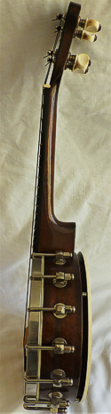 Beddoes 'New Concert' ukulele banjo - side