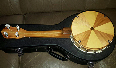 Southern Cross ukulele-banjo - backl view