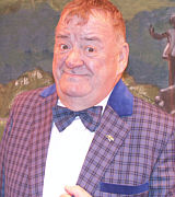 "Paul Shane. ""I come from Rotherham but otherwise I'm not a bad fella""."