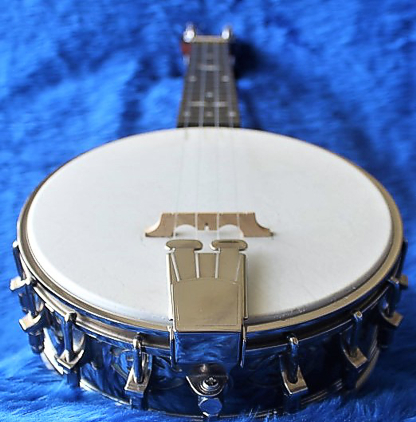 Tone King banjolele - end view