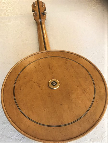 Windsor Whirle ukulele banjo - back